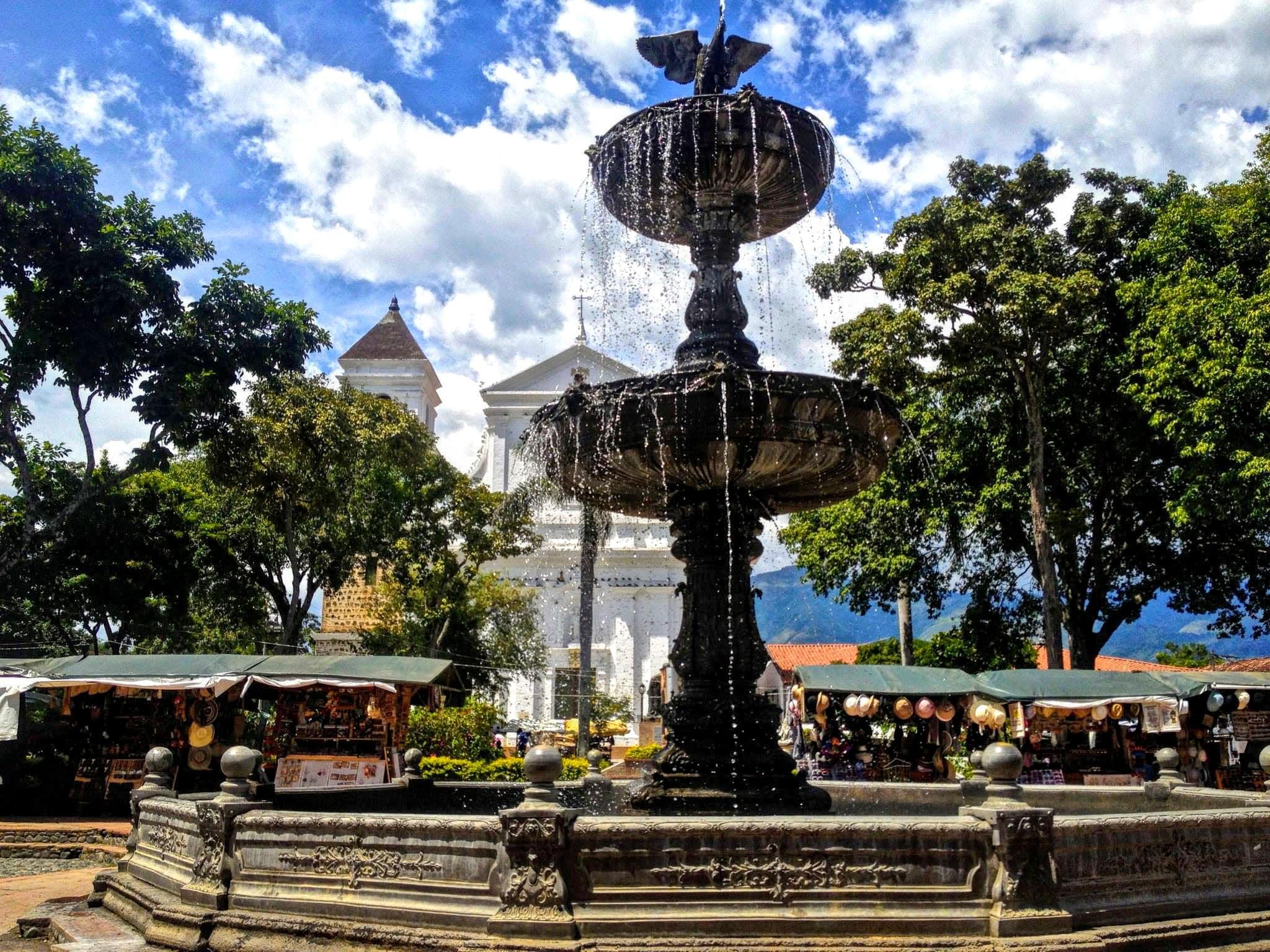 Hauptplatz Santa Fe de Antioquia